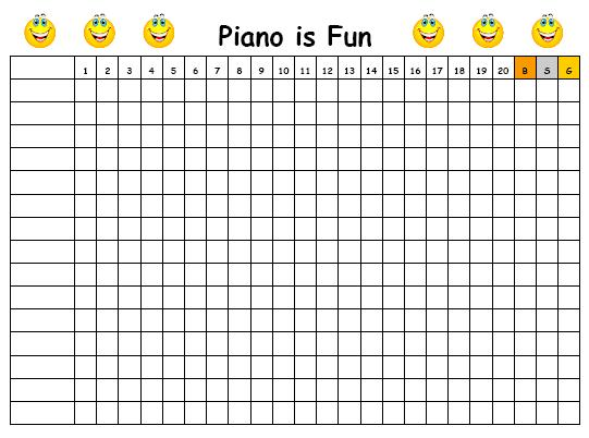 Piano Is Fun Computer Game Chart Layton Music Games