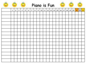 Piano is Fun Chart
